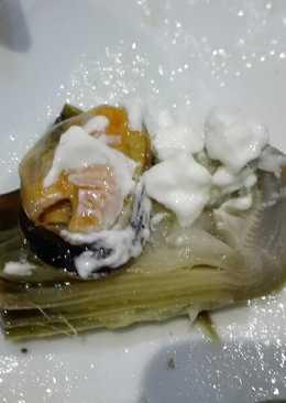 Alcachofas con mejillones y ali oli