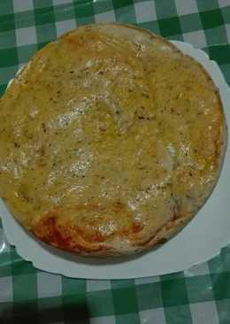 Pan de orégano relleno