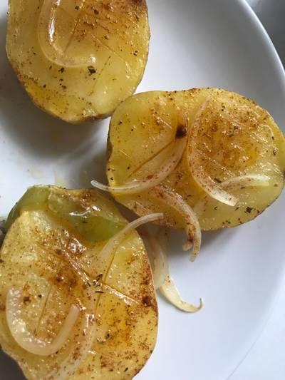 Patatas asadas en 7 minutos