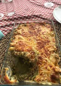 Gratinados de brócoli atún y Gorgonzola