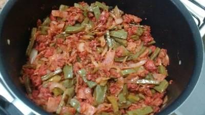 Nopales con Chorizo