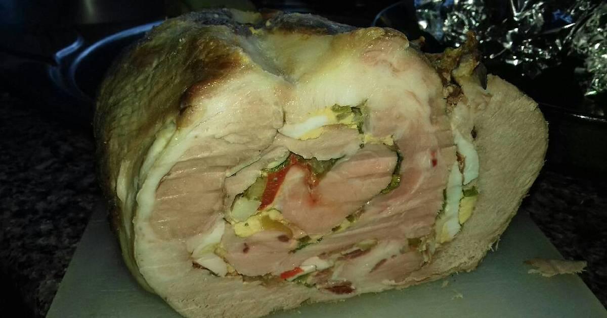 Lomo relleno al horno 136 recetas caseras cookpad for Cocinar cinta de lomo al horno