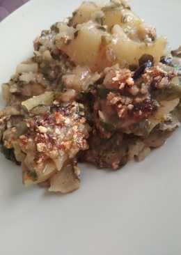 Acelgas con patata en bechamel vegana. Receta 5*