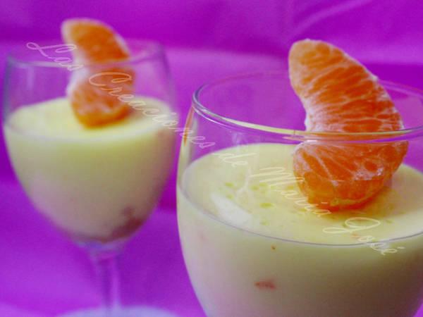 Cuajada de naranja