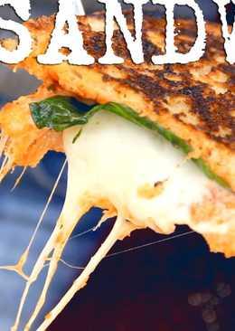 Sándwich pizza