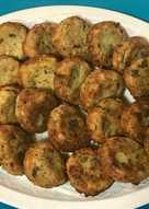Tortitas de calabacín. (κολοκυθοκεφτέδες)