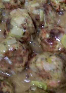 Albóndigas pollo y brócoli 2.0