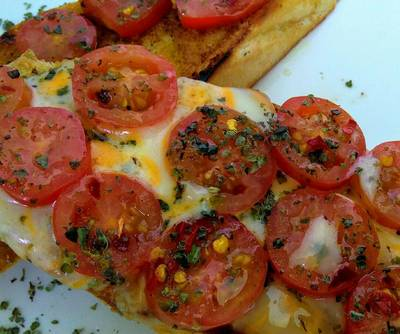 PAN con Tomate...!