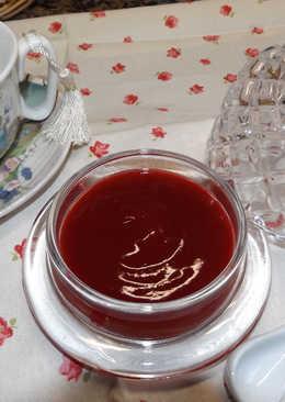 Mermelada rápida de arándanos rojos al aroma de clementinas