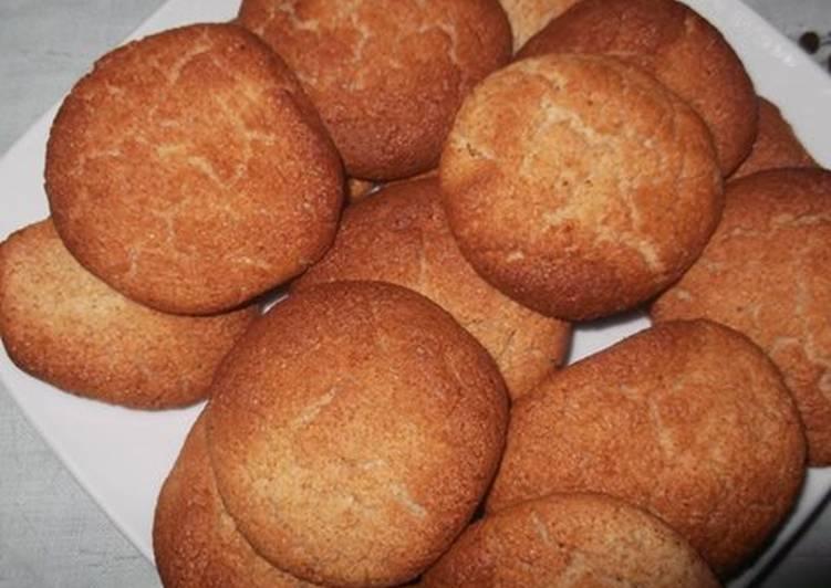 Galletas o pastas de harina de almendra sin gluten