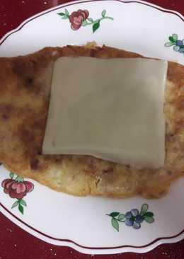 Tortilla francesa de atún🥚