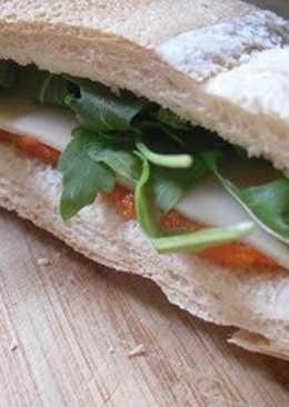 Relleno de sobrasada y miel para sandwiches