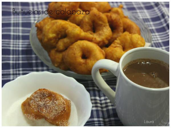 Buñuelos de calabaza (bunyols de carabassa)
