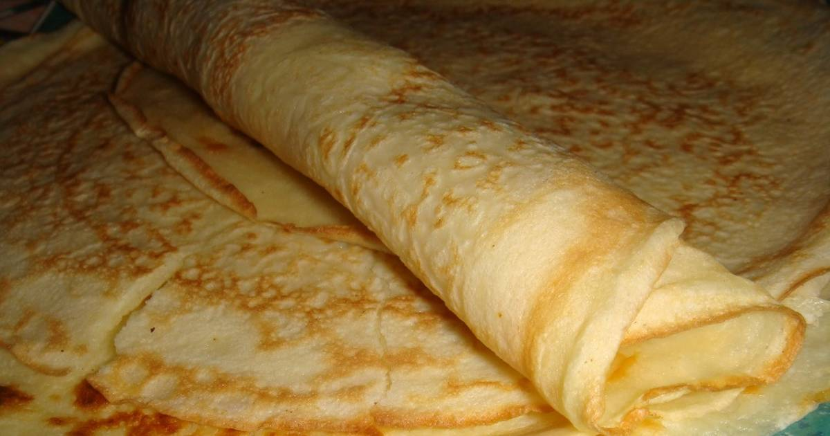 Masa para panqueques ¨Doña Petrona¨ Receta de Norali - Cookpad