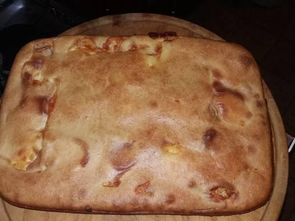 Torta de fiambre masa líquida