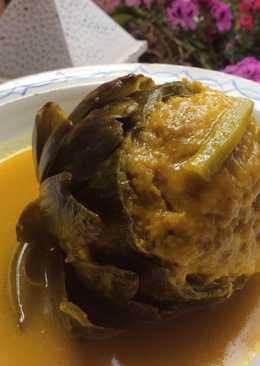 Alcachofas rellenas de carne 🍃