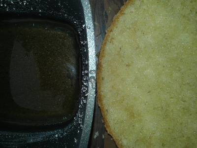 Almíbar para bizcochuelos o budines