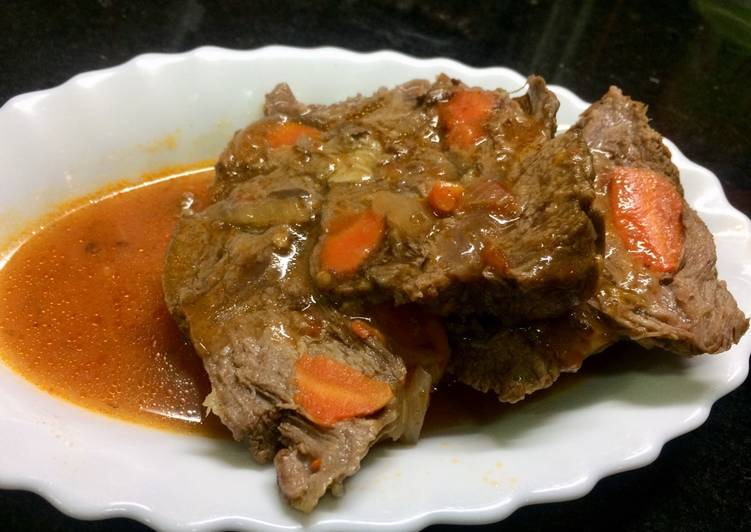 Carne Mechada Receta De Marco Molina Cookpad