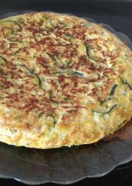 Torti-pizza de calabacín