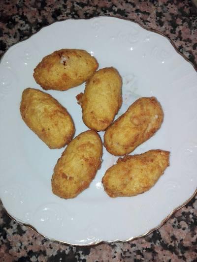 Croquetas caseras de pollo y jamón