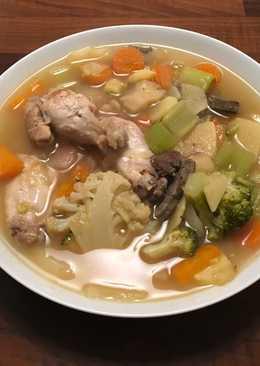 Sopa sana contra el frío