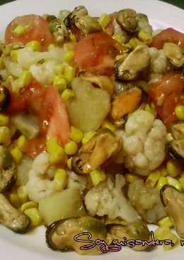 Ensaladilla de coliflor y patata