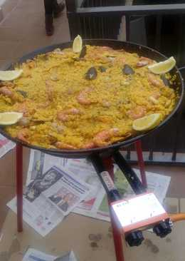 Paella de pescado 279 recetas caseras cookpad - Paella de pescado ...