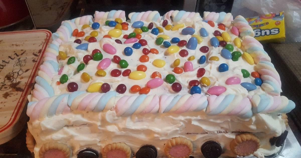 Mickey y minnie tortas decoradas con merengue o cremas in - Golosinas para cumpleanos de ninos ...