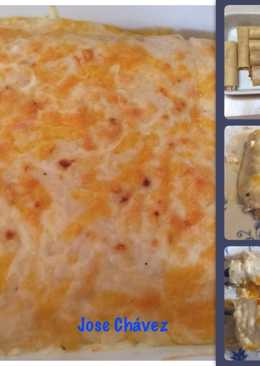 Canelones de Atún y de Carne