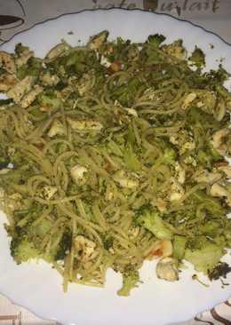 Pasta con pechuga y brócoli