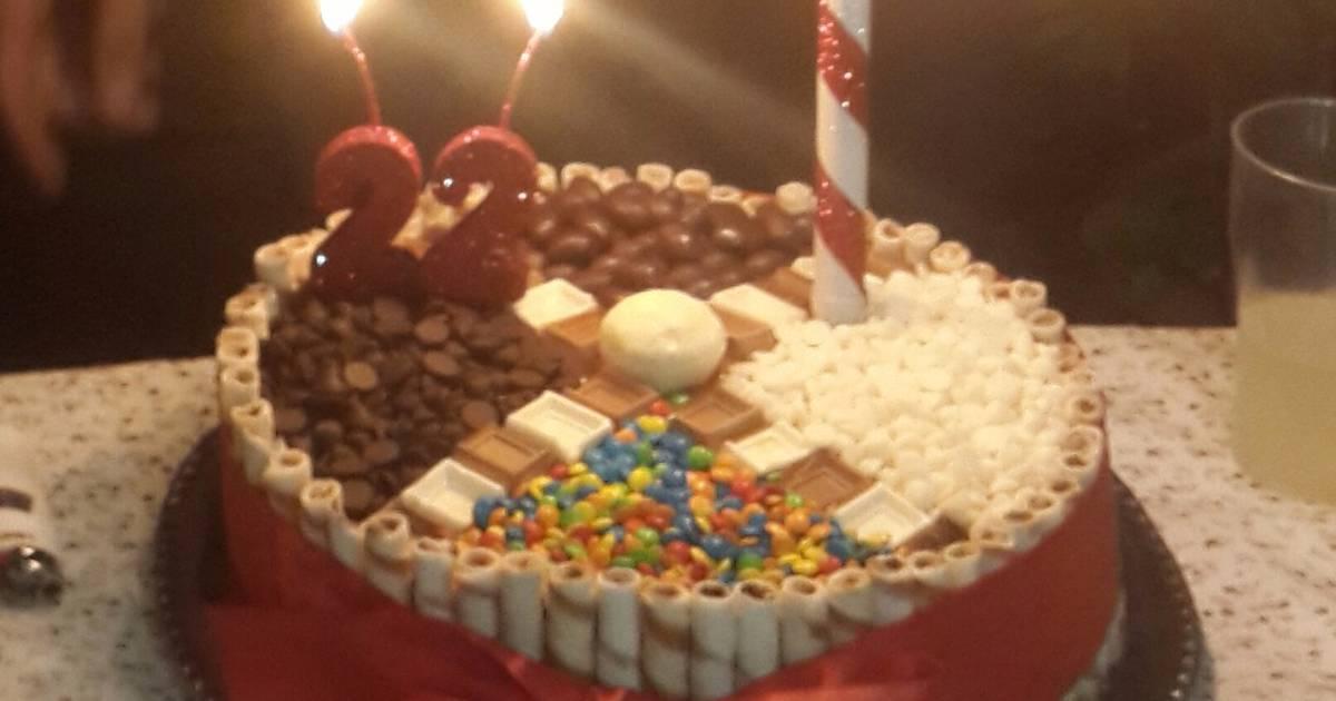 Tortas de cumplea os imagui for Tortas decoradas faciles