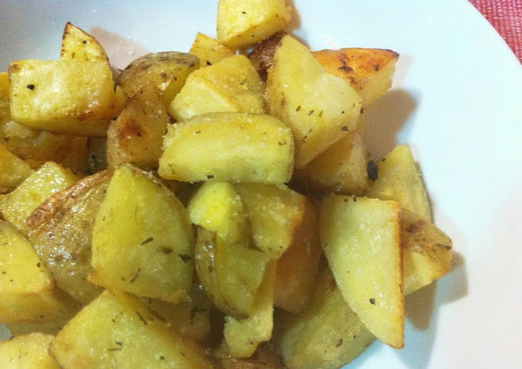 Cocinar Patatas Microondas   Patatas Asadas Rapidas En Microondas Receta De Marina Cookpad