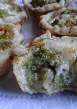 Tartitas de brócoli