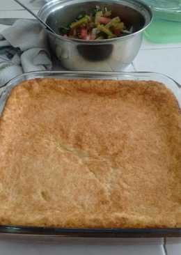 Pan de elote, hecho en casa😋😋😋😋