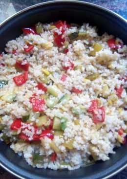 Arroz integral con verdura (versión 2)