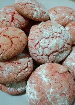 Galletas red velvet con thermomix