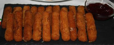 Fingers de queso provolone
