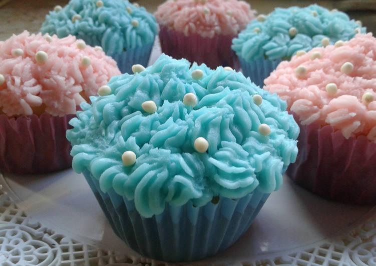 Cupcake Baby Shower Receta De Graciela Martinez Cookpad
