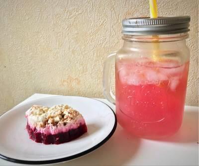 Limonada rosada con jengibre detox con un ingrediente secreto ® 😉 (Pink lemonade)