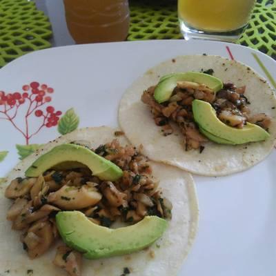 Setas en tacos