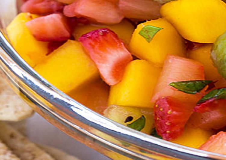 Fruta tranquila de temporada
