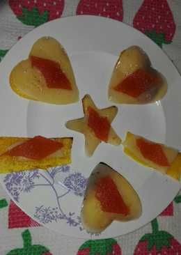 Aperitivos de calabaza, queso y membrillo