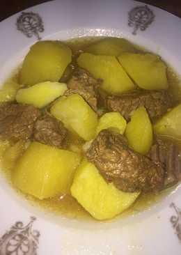 Patatas con carne de antaño
