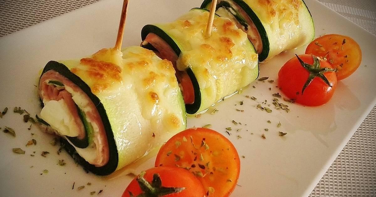 recetas de pintxos con calabacin
