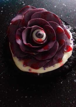 Black Magic Halloween Cupcakes