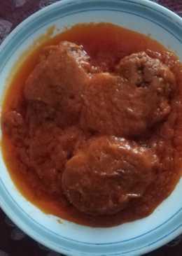 Salsa de tomate para cualquier tipo de carne