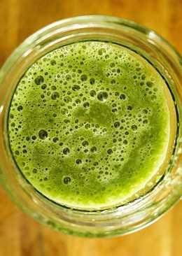 Batido Verde Saludable con Sabor a Gominola de Anís