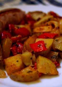 Butifarra con patatas (versión ligera)