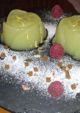 Rosas de compota de manzana