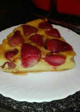Tarta de fresa en la olla GM g